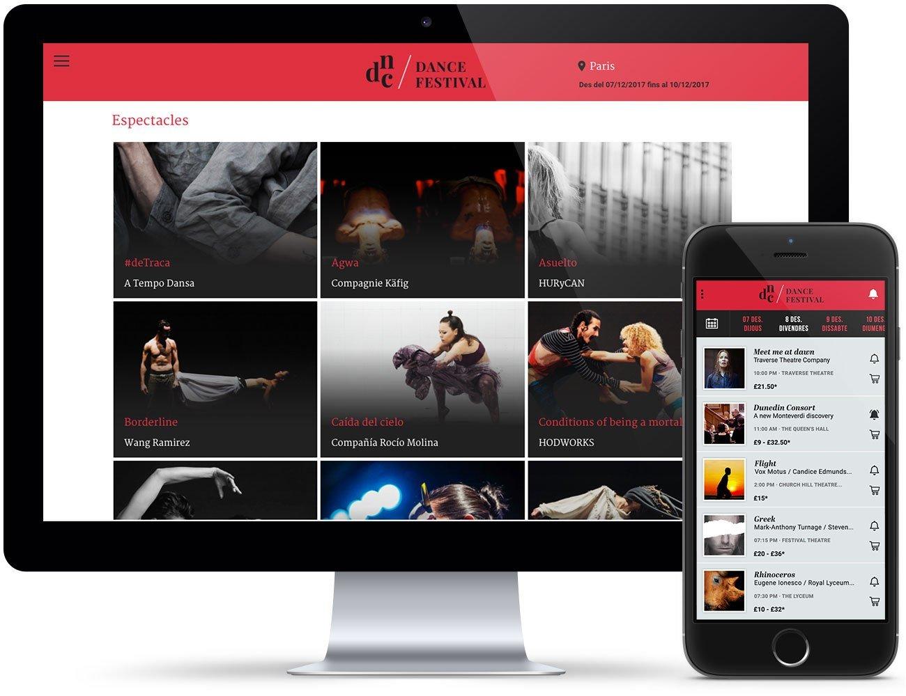 Toda la programación del festival de teatro disponible en el móvil del aficionado a las Artes Escénicas